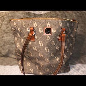 Authentic Dooney and Bourke shoulder bag